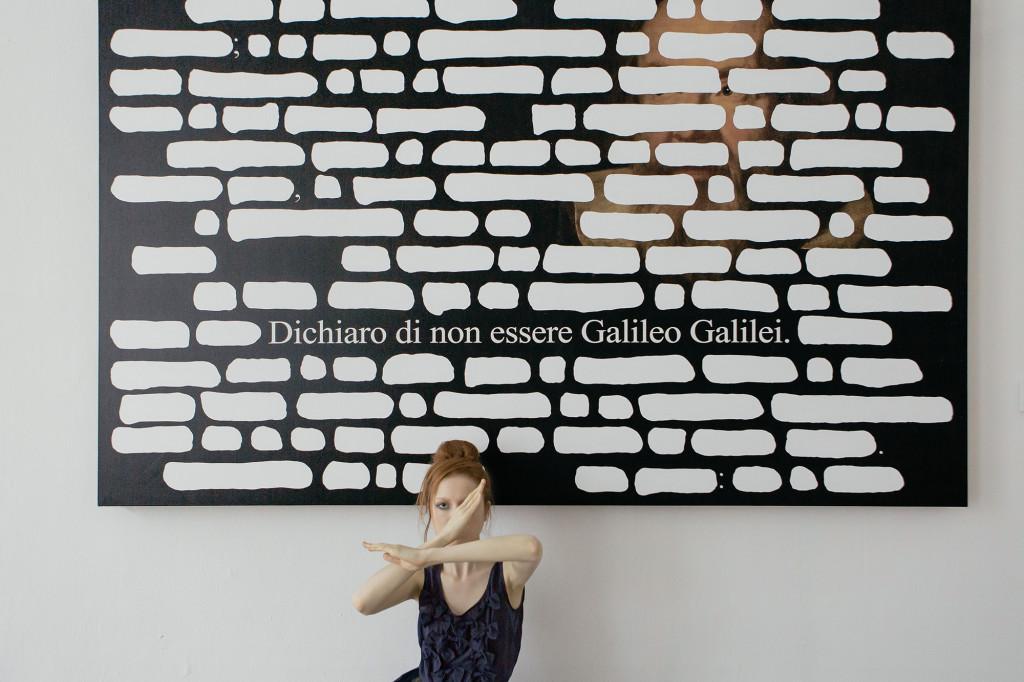 Eloisa Reverie Vezzosi, Emilio Isgrò, Milano