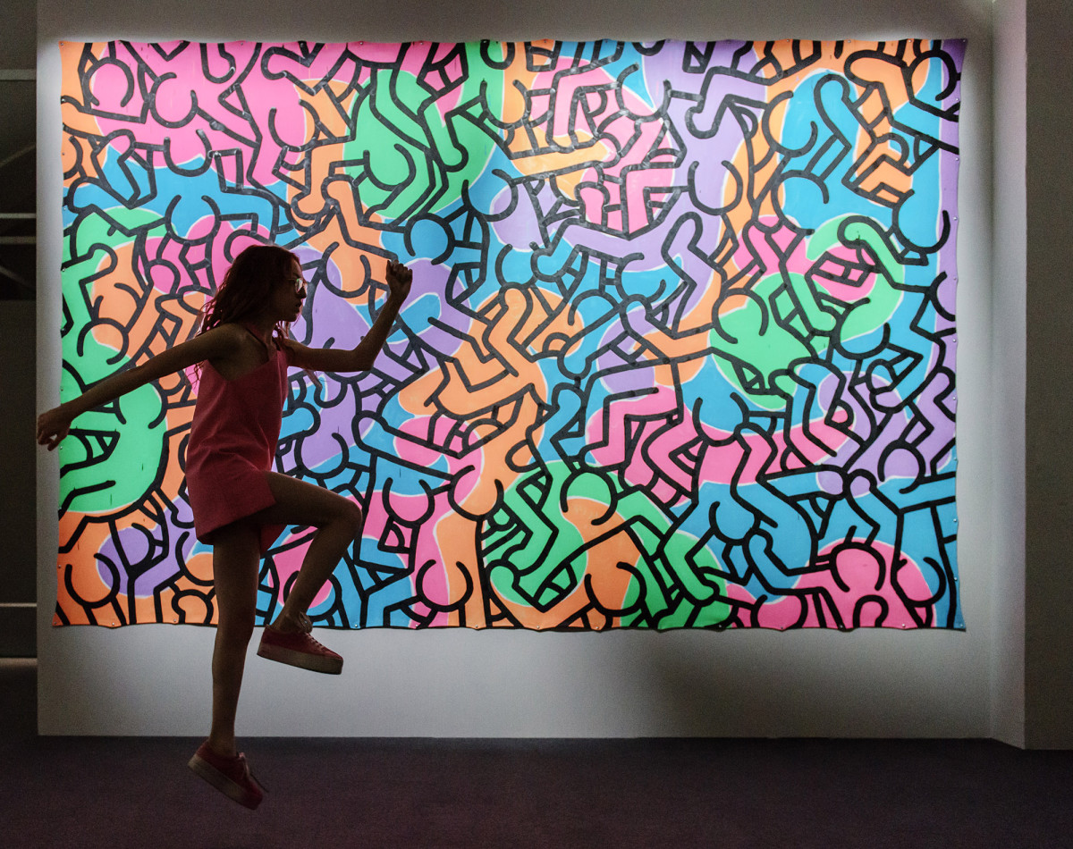 Keith Haring, Eloisa Reverie Vezzosi, Palazzo Reale, Milano