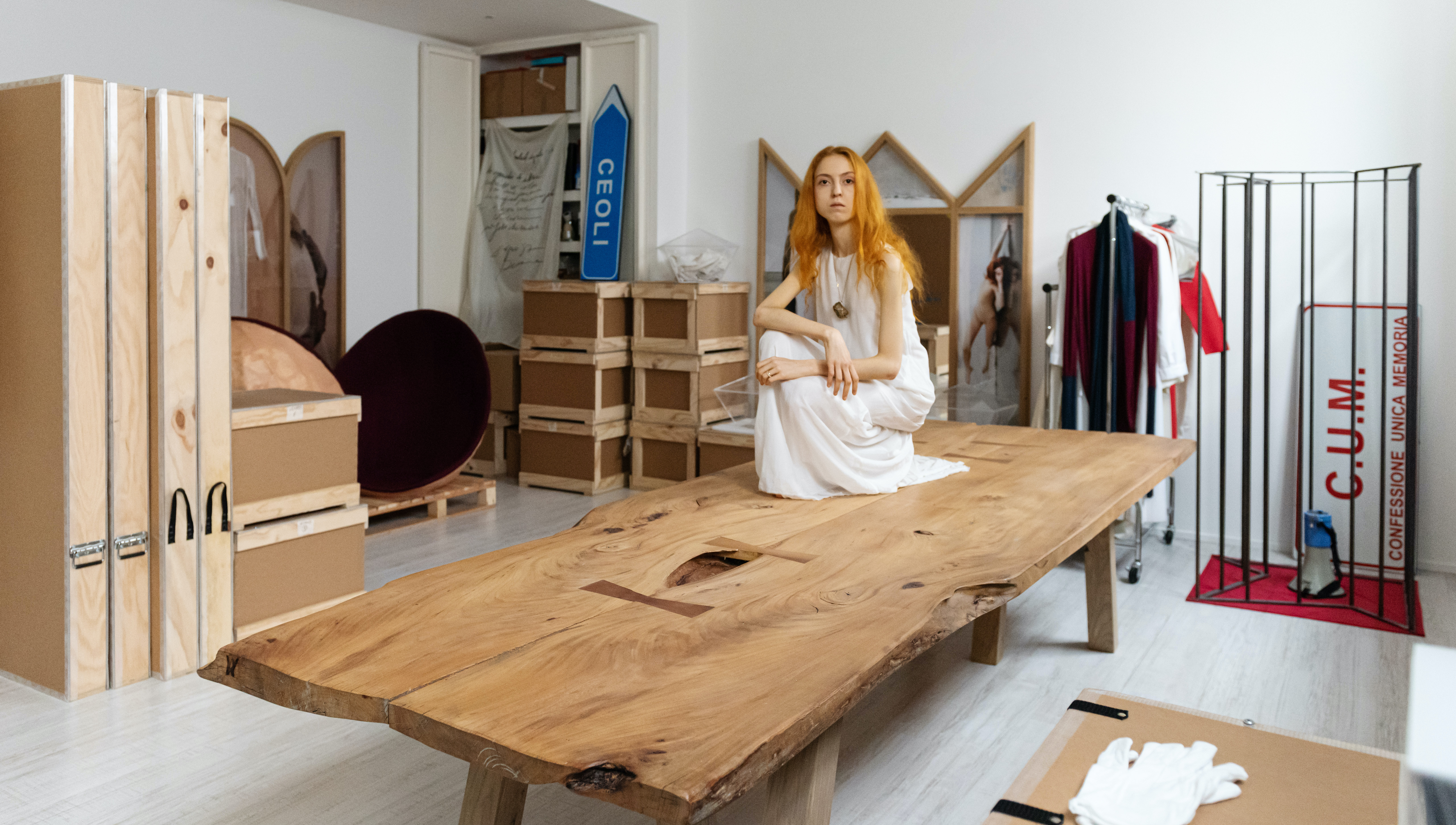 Reverie, studio d'artista, Milano 2020-2021