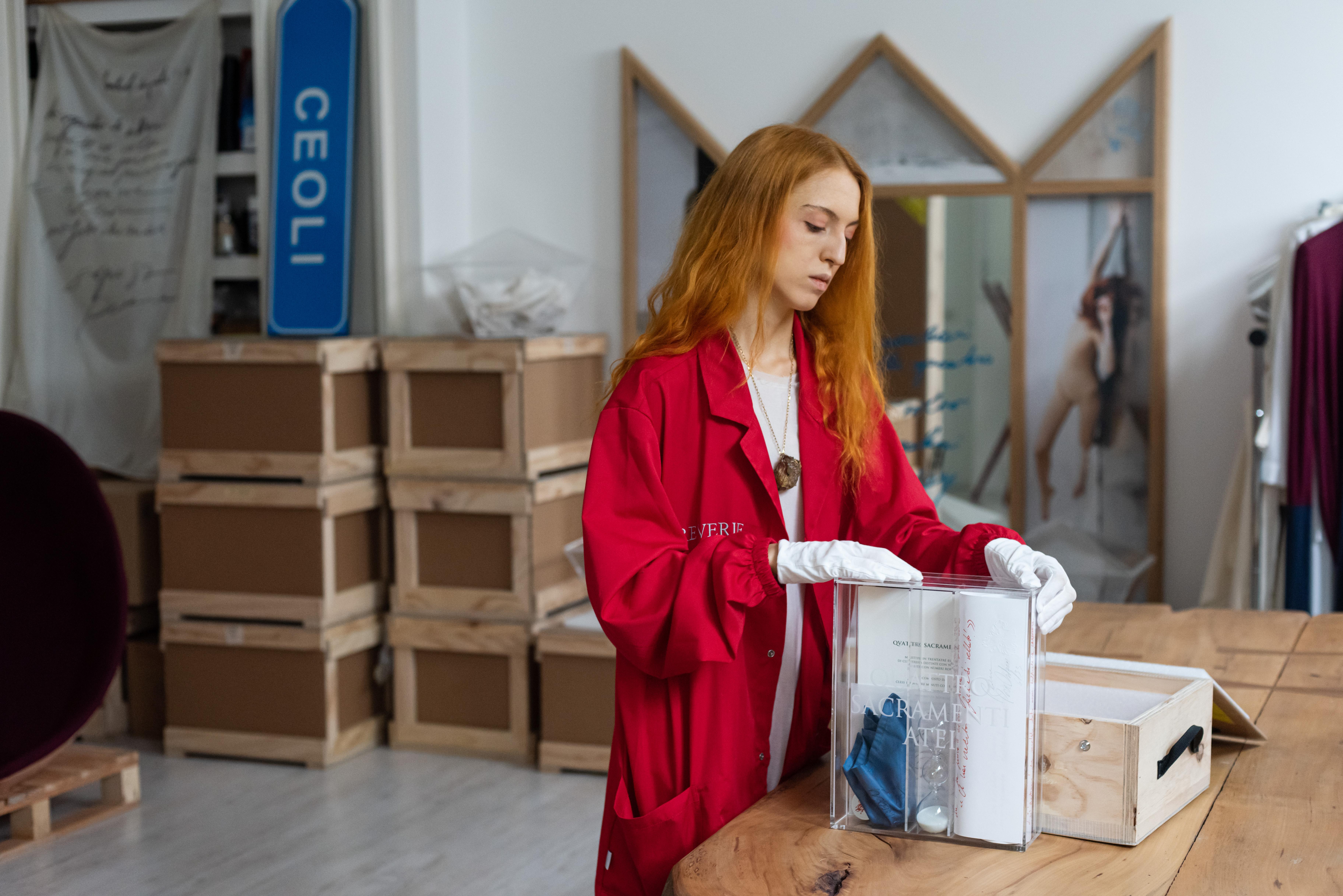 Reverie, studio d'artista con libro opera, 2016-2018